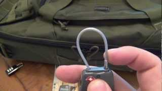 Gear Review : Maxpedition Luggage Cable Lock screenshot 5