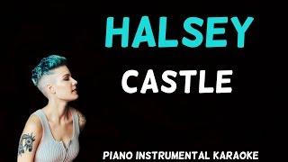 Halsey - Castle [Karaoke]