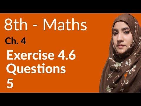 8th Class Math, Financial Arithmetic Ex 4 6 Q 5 - 8th Class Maths Punjab  Text Book Board