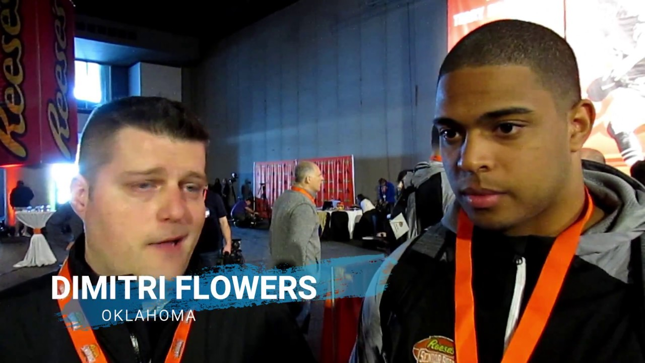 Player Spotlight: FB Dimitri Flowers, Oklahoma - YouTube