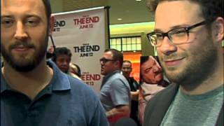 """This Is The End"" Interview With Seth Rogen & Evan Goldberg"