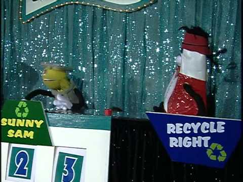 Recycle Right Puppet Show Solid Waste Authority