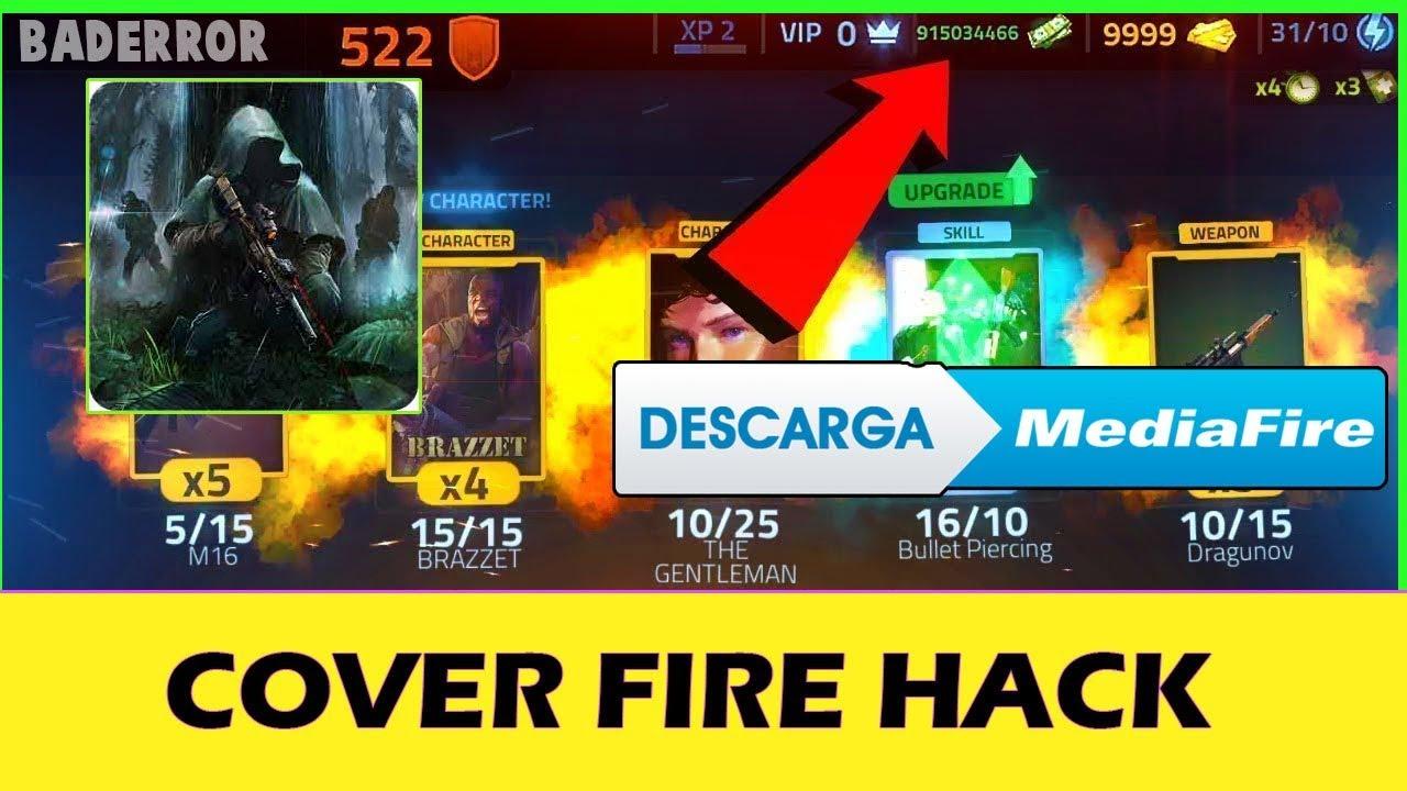 COVER FIRE HACK/MOD APK DINERO Y ORO INFINITO 1 15 2 | HACK APK DESCARGAR  HACK ULTIMA VERSION