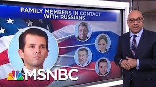 Which Russians Are Allegedly Connected To President Donald Trump? | Velshi & Ruhle | MSNBC