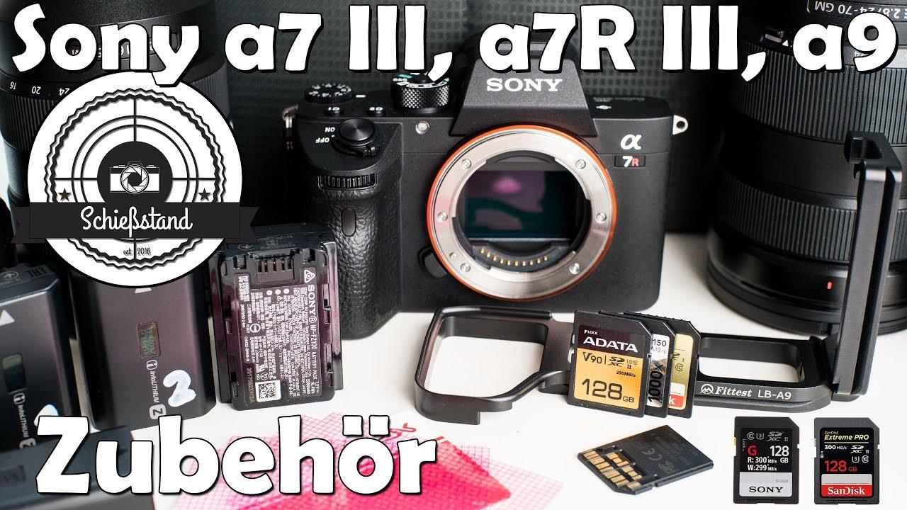 Sony A7 Iii A7r A9 Zubehr Uhs Ii Sd Karten L Winkel Plate Bracket Kamera Alpha A7s Akkus Usw