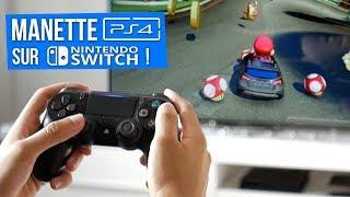 Jouer à la Nintendo Switch avec une manette de PS4/PS3/Xbox !