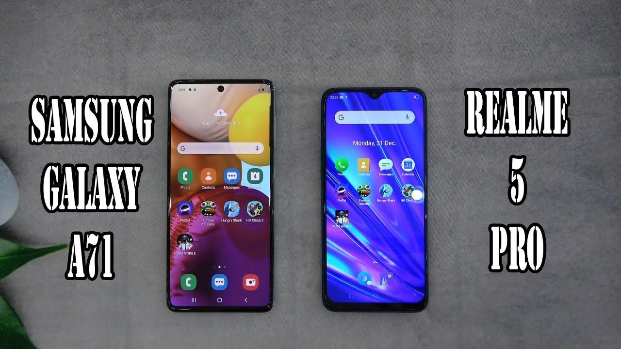 Photo of Samsung Galaxy A71 vs Realme 5 Pro | SpeedTest and Camera comparison – سامسونج