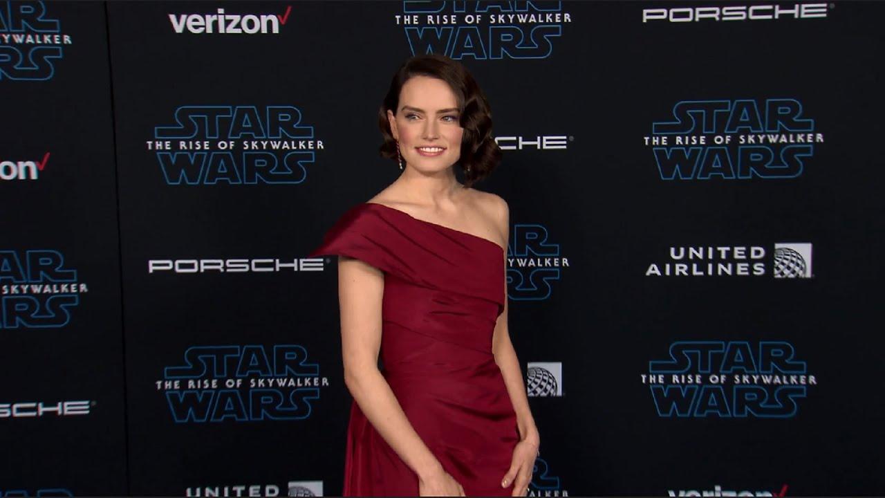 Star Wars The Rise Of Skywalker Premiere Daisy Ridley Adam Driver John Boyega Youtube