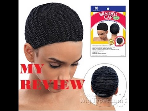 Crochet Braids On A Wig Cap : ... SHAKE N GO BRAIDED CAP CROCHET WIG WITH ZURY BRAZILIAN BRAID - YouTube