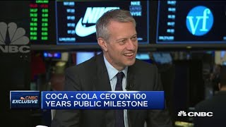 Watch CNBC's full interview with Coca-Cola CEO James Quincey