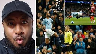 Man City 6-0 Shakhtar Donetsk | Gabriel Jesus Scores Hat-trick | Raheem Sterling Penalty