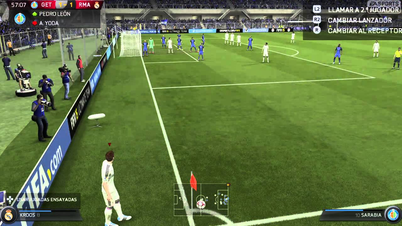 Ver Getafe Vs Real Madrid: Getafe Vs Real Madrid La Liga 2014/15 720p HD PS4 Gameplay