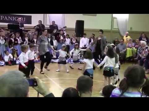 Saint Nicholas Greek Food Festival Dancing-youth perform