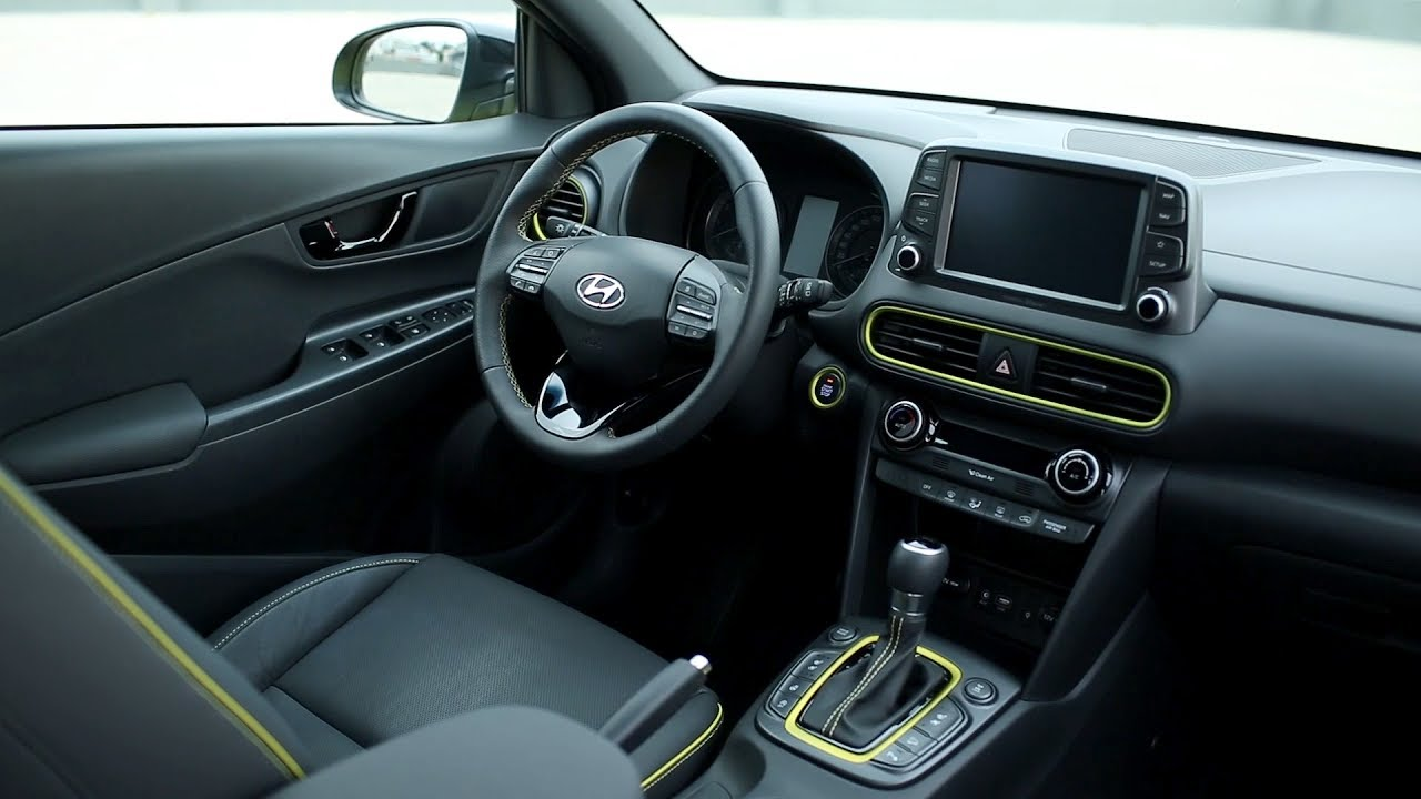 2018 Hyundai Kona Interior Youtube
