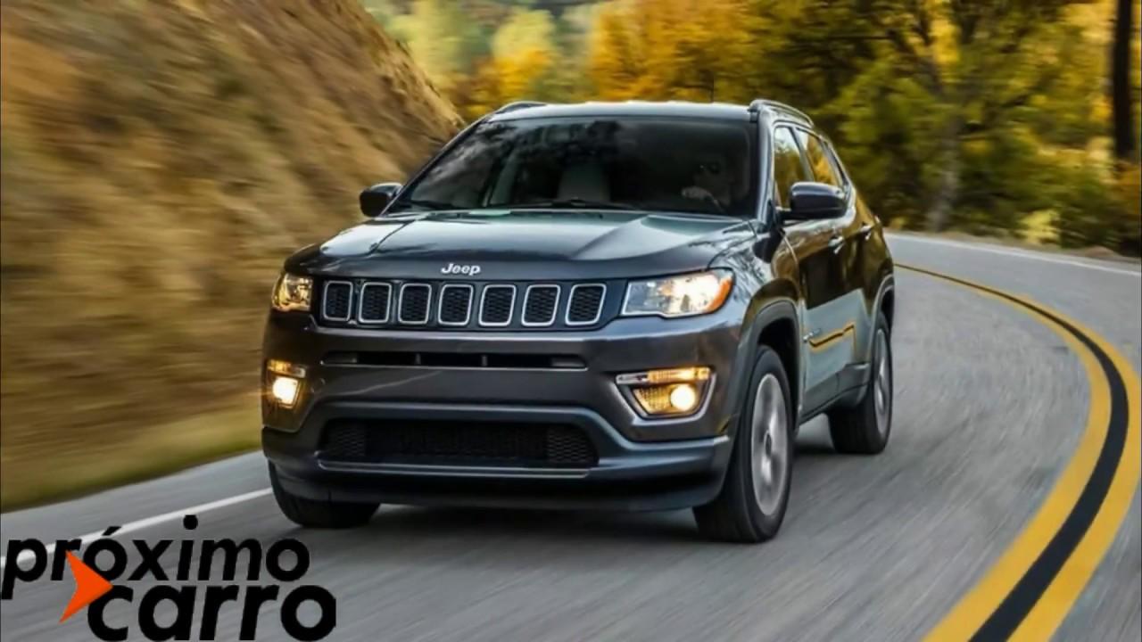 Jeep Compass 2018 Precos E Versoes Youtube