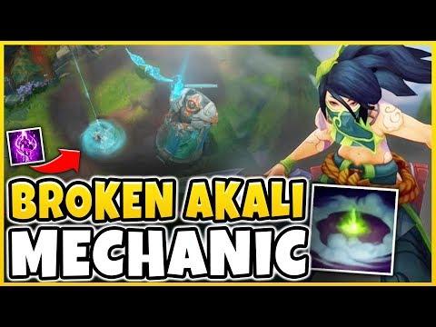 NEW INSANELY OP AKALI MECHANICS DISCOVERED! UNREAL AKALI COMBOS/MECHANICS #2 - League of Legends