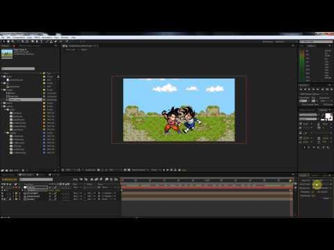 Sprite Animations Inside AE - Lesson 6.5: Camera Movement Basics