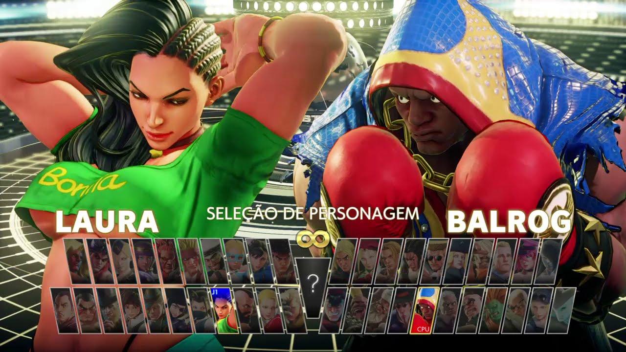 STREET FIGHTER V new season 2021 Laura