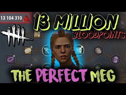 13 MILLION BLOODPOINTS - The Perfect Meg - Dead by Daylight with HybridPanda