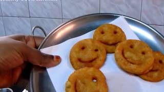 Potato Smiley Recipe - Potato Recipe - Aloo Recipe -Kids Recipe - Snack Recipes