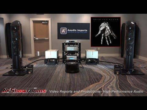 Aaudio Imports, Wilson Benesch Resolution, Ypsilon Electronics, Stage III, Aurender, HB Cable Design
