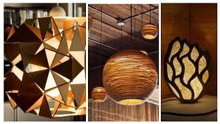 12 Ideias de Luminária de Papelão – Decoração Rústica Ecológica