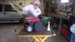 Repairing an Old 2 Stroke Snow-Thrower