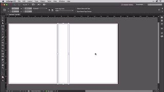 Building a Book Cover in InDesign with 3-Up Layout of Cover, Spine, and Back Cover