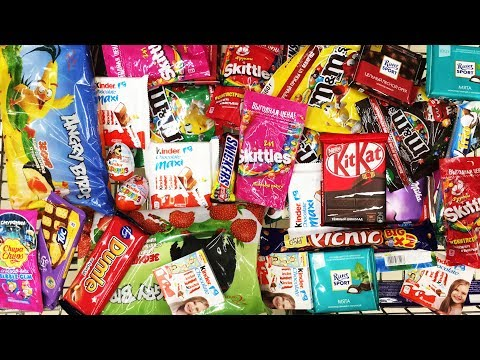 A Lot Of NEW Candy 2018 #40 Киндер...