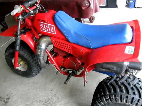 1982 honda atc 250r youtube