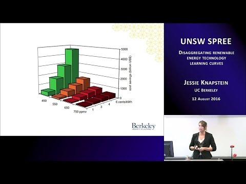UNSW SPREE 201608-12 Jessie Knapstein - Renewable Energy Learning Curves