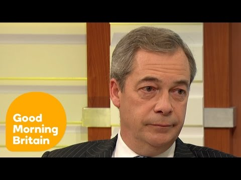Nigel Farage Reflects Leave Voters' Anger at the Supreme Court Brexit Ruling | Good Morning Britain