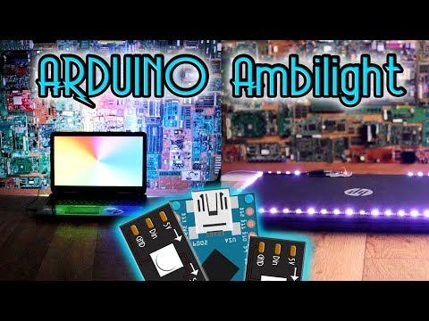 Arduino Ambilight Background Screen
