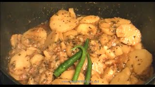 How to make side dish for puri