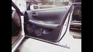 Двойной сабик и сдвоенный мидбас в Toyota Mark II