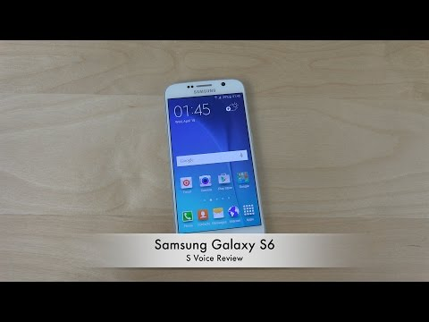 Samsung Galaxy S6 S Voice - Review (4K)