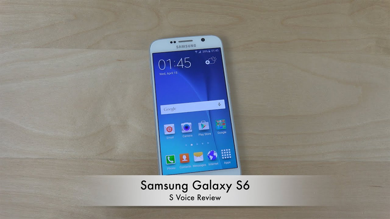 New Samsung Galaxy S6 Official Wallpaper Review Hd: Samsung Galaxy S6 S Voice