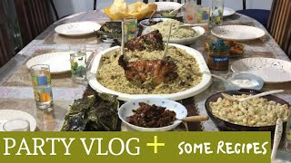 Party Vlog I Shawaya Chicken Recipes I Dragon Chicken I Three Desserts Recipes