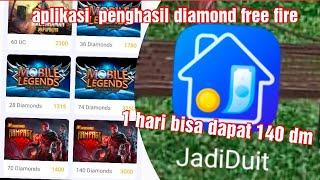 aplikasi penghasil diamond free fire DAN SALDO DANA HINGGA 1 JUTA RUPIAH paling encer(apk jadi duit) screenshot 4