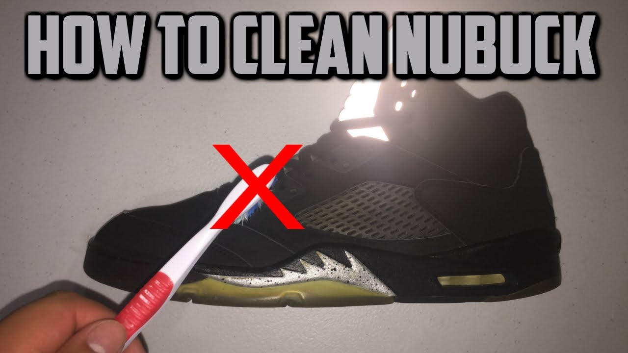 How To Clean Nubuck Jordans Shoes Jordan 5 Metallic Restoration
