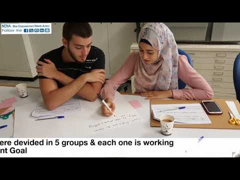 Team Work Goal Setting exercise for Honor students at the Lebanese American University of Beirut