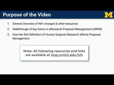 Working with NIH | ORSP