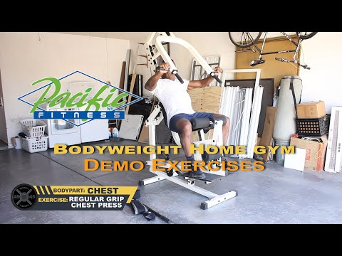 Dr Gene James- Pacific Fitness Body-weight Gym Demo Video