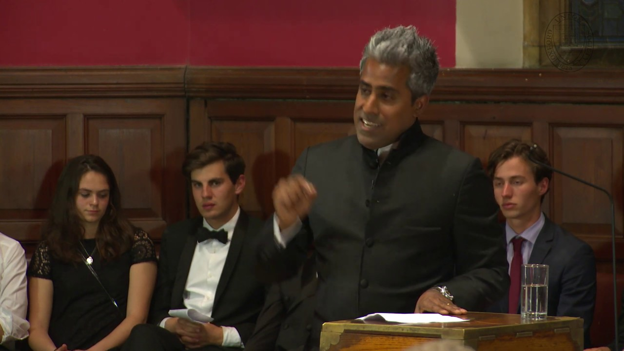 Anand Giridharadas | It Is Immoral To Be A Billionaire | Oxford Union