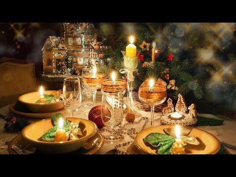 идеи декора для новогоднего стола