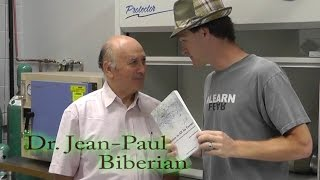 Cold Fusion? Dr. Jean-Paul Biberian comes for a visit to the lab! The New Cold Fusion Lab!