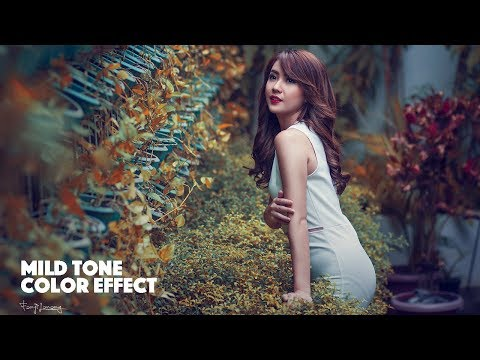 Photoshop Tutorial MILD and SOFT Coloring Tone Effect thumbnail