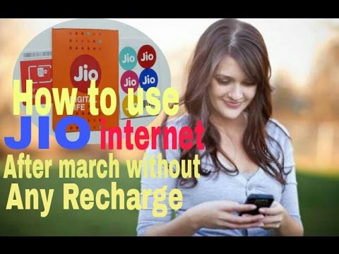 How to hack Jio internet after march 2017 without any recharge new tricks in HINDI 2017.
