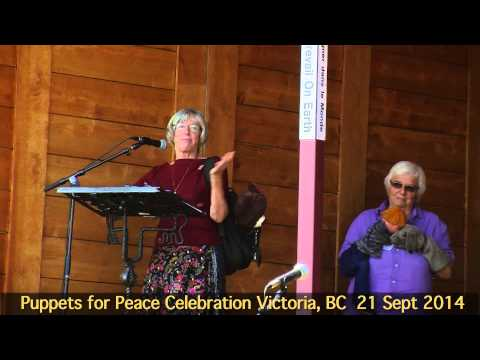 Puppets for Peace - Judith Guichon, Lieutenant Governor of British Columbia