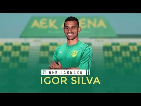Lateral-direito Igor Silva é novo jogador do AEK Larnaca